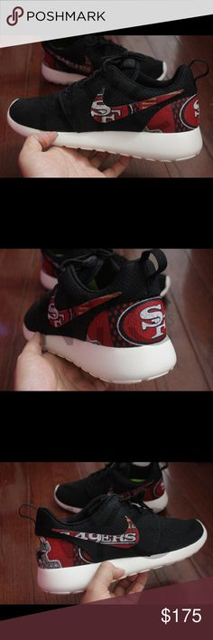 9b24cabc Spotted while shopping on Poshmark: San Francisco 49ERS Nike Roshe One  Custom! #poshmark