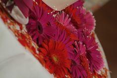 Wedding Details   Wedding Cake   Wedding Cake Flowers   Gerbera Daisies    Boston Wedding   Stapleton Floral Design