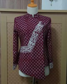 Mode Batik, Batik Kebaya, Formal, Blouse, Long Sleeve, Model, Sleeves, Tops, Dresses
