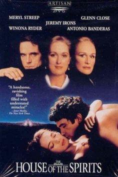 Antonio Banderas, Winona Ryder, Glenn Close, Jeremy Irons, and Meryl Streep in The House of the Spirits Meryl Streep, Great Films, Good Movies, Sunday Movies, Movies Showing, Movies And Tv Shows, Image Film, Fiction, Jazz