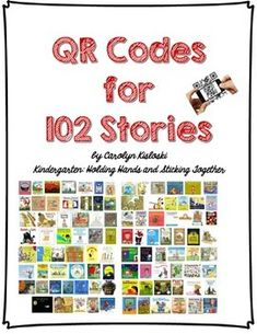 This packet features QR codes for the read alouds of 102 stories. Each video on the QR code has been scanned through ViewPure to remove any ads or distractions.   These QR codes can be made into a book for a wonderful listening center, or even sent home with students for a fun activity! My students love listening to books over and over, that we have read aloud in class. This way, they can listen all they want!