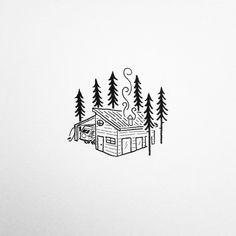 A simple little PNW surf shack.