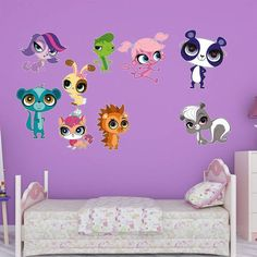 Fathead Littlest Pet Shop Wall Decal Collection   1030 00070 Design Inspirations