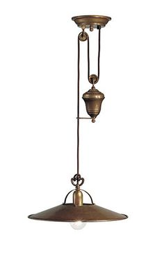 Poggio | Brass and iron indoor suspension lamps and ceiling lamps
