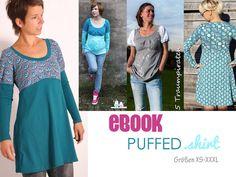 eBOOK+#79+PUFFED.shirt+✪+Größen+S-XXXL+von+leni+pepunkt+auf+DaWanda.com
