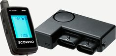 SCORPIO Motorcycle alarm with remote