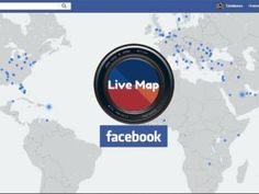 La mappa interattiva dei Live Video di Facebook Live Map, Facebook News, Chicago Cubs Logo, Social Media, Video, Logos, A Logo, Social Media Tips, Social Networks