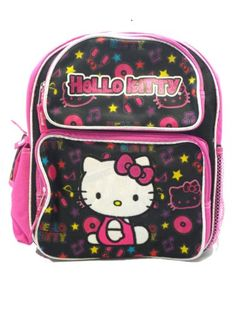 Small Size Black Felt Hello Kitty Backpack - Hello Kitty Bookbag      Continue to the product at the image link.(It is Amazon affiliate link)   HelloKitty 9646797dd4