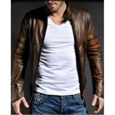 jaquetas masculinas de couro