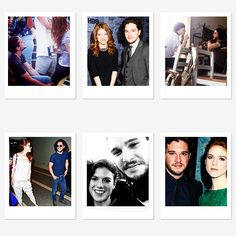 """"""" Rose Leslie + Kit Harington « She's a consummate professional and the most wonderfully generous lovely person. We got on so very very well. » """""""