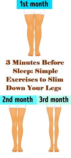 health fitness - 3 Minutes Before Sleep Simple Exercises to Slim Down Your Legs Fitness Workouts, Easy Workouts, Cardio Gym, Yoga Workouts, Workout Gear, Herbal Remedies, Health Remedies, Natural Remedies, Health And Wellness