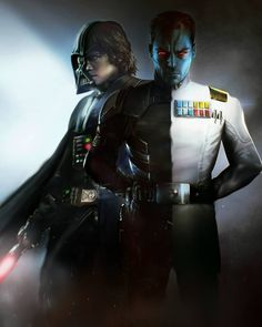 """sithchik: """"Brilliant mashup by 👇👇👇 from with """"I have sensed a disturbance in the Force."""" And decided to mash different covers of Thrawn Alliences novel in a dualism style💥 Who reading this piece of starwars. Star Wars Facts, Star Wars Humor, Anakin Vader, Anakin Skywalker, Darth Vader, Thrawn Star Wars, Thrawn Trilogy, Star Wars Sith, Clone Wars"""