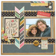 You and Me - Fancy Pants Make a Wish, Burlap and Bows