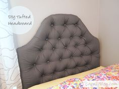 DIY Tufted Headboard | Cape27Blog.com
