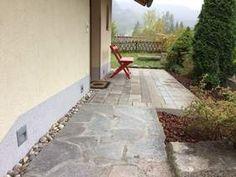 Ferienwohnungen Panorama: Renovierungs des Aufganges zum Ferienhaus Panorama Sidewalk, Cottage House, Pavement, Curb Appeal