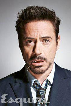 Robert Downey Jr. by Nigel Parry
