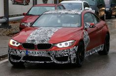 Spied: BMW M4 Coupe Prototype in Sakhir Orange - Motor Trend WOT