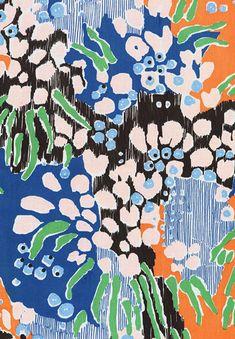 Pattern Design Featured Designer: Katy Welsh- underwater floral Pattern DesignSource : Featured Designer: Katy Welsh- underwater floral by fkesse Design Textile, Art Design, Textile Prints, Lino Prints, Block Prints, Motifs Textiles, Textile Patterns, Print Patterns, Floral Patterns