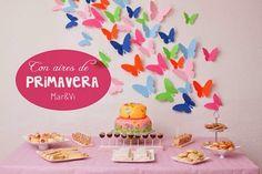 Fiestas infantiles para niñas  http://www.pequeocio.com/fiestas-infantiles-cumpleanos-primaveral/