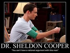 Sheldon Cooper from The Big Bang Theory quotes site
