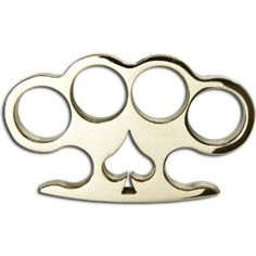 Brass Knuckles - Real Brass Knuckles Belt Buckle