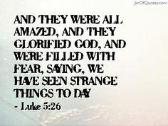 Luke 5:26