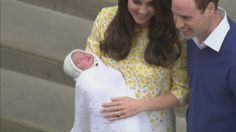 By George, it's a girl! World welcomes royal baby