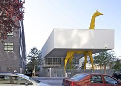 Giraffe Childcare Centre by Hondelatte Laporte