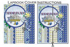 Hanukkah Digital Lapbook Kit in Blue and by DigiScrapDelights #messianic #messianicchanukah #hanukkah