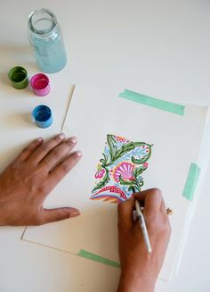 How to Create a Pattern in the style of William Morris | The Jungalow