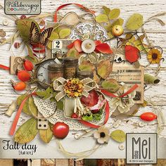 Fall day - Full kit By Mel Designs