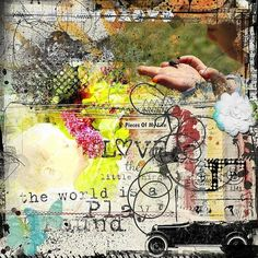 Love the little things Little Things, Altered Art, Digital Scrapbooking, Love, Creative, Artist, Painting, Amor, Artists