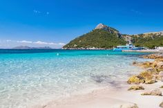 """""""With beaches as beautiful as this one, is impossible not to fall in love with Mallorca"""""""