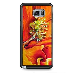 Flower Painting TATUM-4302 Samsung Phonecase Cover Samsung Galaxy Note 2 Note 3 Note 4 Note 5 Note Edge