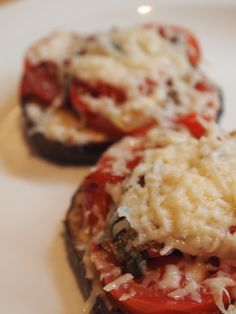 eggplant parmesan rounds - Google Search