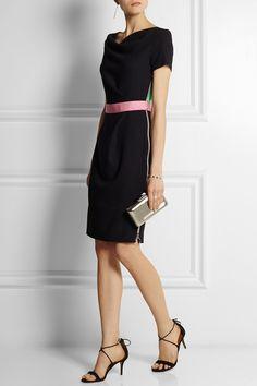 Roksanda Ilincic   Ayden color-block wool-blend crepe dress   NET-A-PORTER.COM