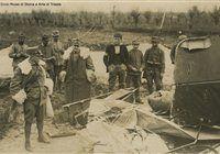 Aeroplano austriaco abbattuto davanti al generale Cadorna Prima guerra mondiale #TuscanyAgriturismoGiratola