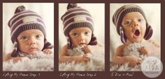 Lifting My Head Series from lovealda.com Children Photography, Crochet Hats, Kids, Baby, Fashion, Knitting Hats, Young Children, Moda, Boys