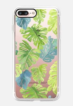 Casetify iPhone 7 Case and Other iPhone Covers - Monstera by Emily Widdoes Iphone 7 Plus Cases, Iphone 8, Facebook Photos, Pattern Making, Baby Items, Casetify, Cover, Ebay, Smartphone
