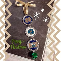 Notre Dame Holiday Bottle Cap Ornament on Etsy, $6.50