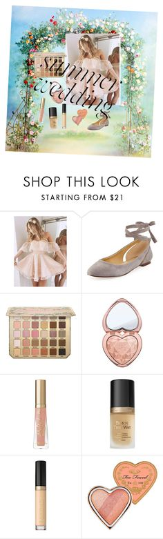 """""""Summer wedding"""" by coivea ❤ liked on Polyvore featuring Splendid, Too Faced Cosmetics, pastel and summerwedding"""
