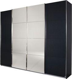 rauch Schwebetürenschrank mit Syncronöffnung ab 699,99€. Türen mit Spiegelauflagen, Mitteltüren öffnen sich syncron, In 2 Höhen: 211 cm oder 230 cm bei OTTO. 829$, 313cm