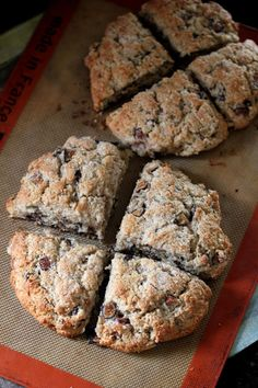 Fig and Chocolate Chip Scones