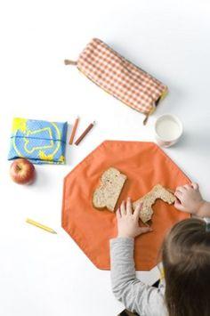 HappyWrapper Picknick Placemat & Bread Wrap -*- In 3 kleuren verkrijgbaar in onze webshop voor €12,95 -*-