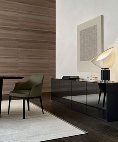 Quid sideboard and Sophie chair