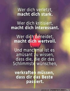 Haha oh ja ☝️ Best Quotes, Life Quotes, German Quotes, Feeling Happy, True Words, Deep Thoughts, Inspire Me, Quotations, Motivational Quotes