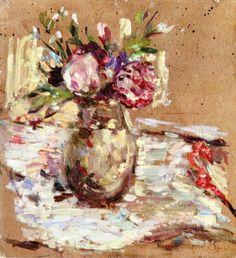 Bouquet of Flowers ~ Edouard Vuillard