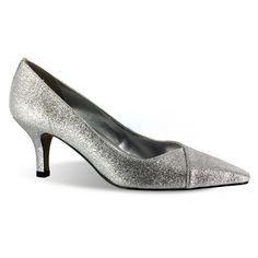 Easy Street Chiffon Women's Dress Heels, Size: