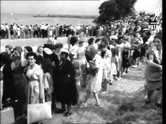 Jehovah's Witness Baptism 1946 Lake Erie USA