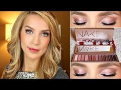 Naked 3 Urban Decay Makeup Tutorial #follow #leighannsays she's so lovely! :)